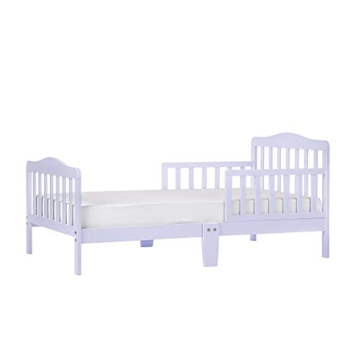 Product Image of the Dream On Me Classic Design Toddler Bed in Lavender Ice, Greenguard Gold...