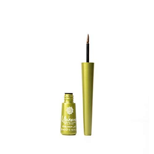 Wakeup Cosmetics Milano Eyeliner Liquide Applicateur de Précision Parfait et Intense Marron