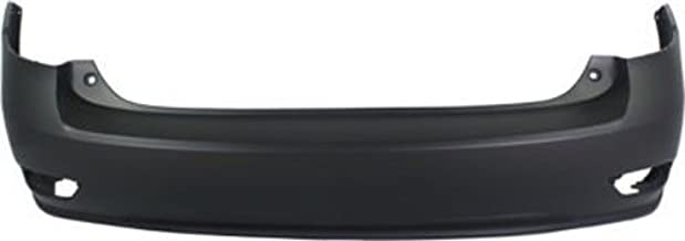 Crash Parts Plus Primed Rear Bumper Cover Replacement for 2010-2015 Lexus RX350, RX450h