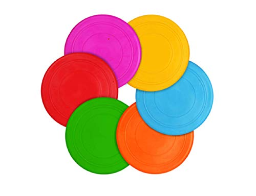 TEESUN Dog Frisbee Training Toys Flying Discs Flyer Silicone