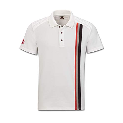 Audi collection 313180040 Heritage Poloshirt, Herren, Offwhite, XL