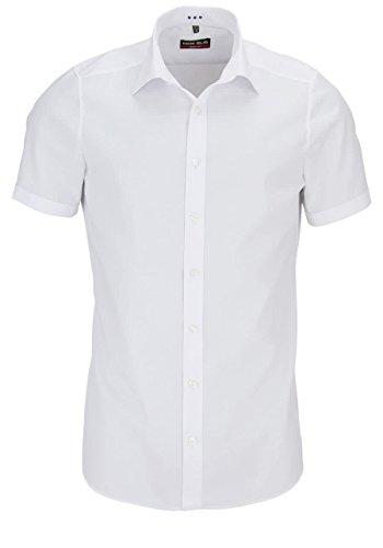 Marvelis - Herrenhemd, Body Fit , Weiߠ, Gr. 41 (L)