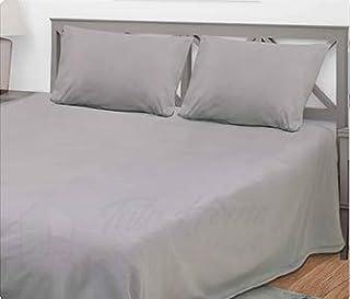 Lenzuolo sotto con angoli in cotone lenzuola tinta unita matrimoniale A154