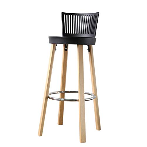Sui Bian barkruk retro draaistoel barkruk keuken eetkamerstoel hoge rugleuning metalen frame jaargang landelijk industrieel ontwerp
