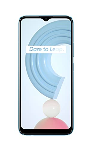 realme C21 Smartphone Libre, Batería de 5000 mAh, Pantalla completa de 6,5' con mini-drop, Cámara triple con IA de 13 MP, Procesador potente Helio G35, Dual Sim, 4+64GB, Cross...