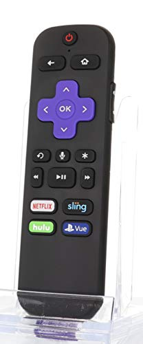 (OEM) RCAL2 Roku Remote ONLY (Netflix/Sling/Hulu/Vue) - Works with Roku Streaming Stick Remote HDMI Version for Roku (HDMI Version)