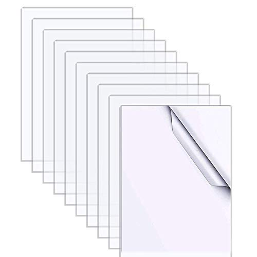 10 Stück Acryl-Plexiglas-Blätter (10 x...