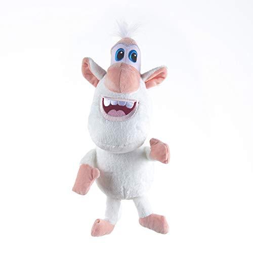 SUIXIN Booba Buba Plüsch Kreative weiche gefüllte Anime Plüsch Schwein Spielzeugpuppe, niedliche kleine weiße Schwein Anime Cartoon Schwein Puppe, Kinderspielzeug, weiche Puppe, Inneneinrichtung