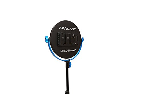 DRSLR400D Dracast Silkray 400 Daylight LED Round Light Blue