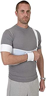 Ossur Premium Shoulder Immobilizer Universal Brace Quick Recovery Aid for Shoulder Injuries Or Post-Op,  immobilization of The Shoulder Joint - Easy to Wear Medical Sling for Men & Women