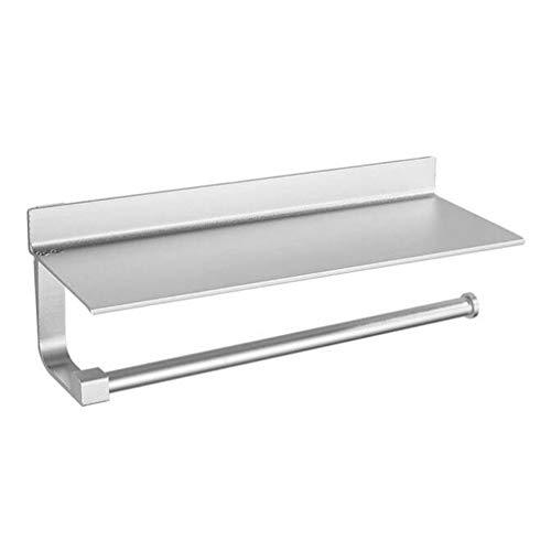 NGXL Papierkette mit Lagerregal von der Küche aus Papierrollenhalter Papiertücher Aluminium Mit Lagerung Von Shelf,Blue