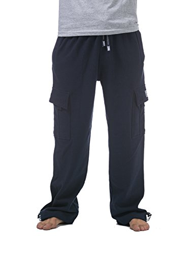 Pro Club Men's Heavyweight Fleece Cargo Pants