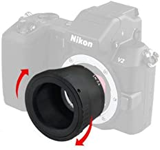 Astromania T2 N1 T Mount Lens Adapter for Nikon 1 Series Camera V1 V2 V3 J1 J2 J3 J4 J5