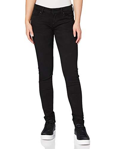 Pepe Jeans Damen Soho Jeans, Schwarz, 28W / 32L
