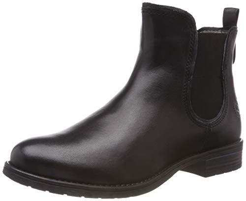bugatti Damen 411569324140 Stiefeletten Kurzschaft Stiefel , Schwarz (Black/ Metallic 1090) , 38 EU