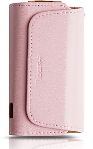 [32 Farben] Etui kompatibel mit IQOS 3 oder IQOS 3 Duo Tasche aus Kunstleder, verschließbare Schutzhülle für Charger, Reinigungsstift und Heets Sticks - Zubehör für Starterset