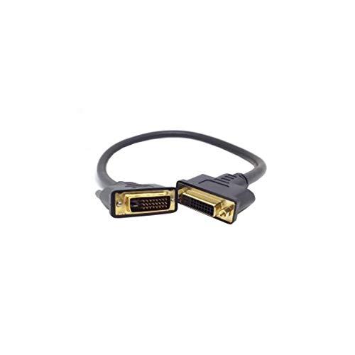 Peanutaoc DVI -D Dual Link Mannelijk Digitaal 24+1 naar DVI 24+1 Vrouwelijke VIDEO Verlengkabel