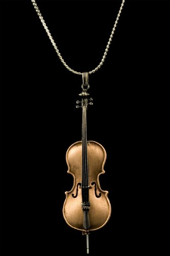 Harmony Jewelry Elegant Cello Necklace