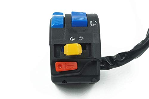 ZYL-IL Universal de la motocicleta ATV ATV campo a través del interruptor de la manija del vehículo multifunción Cinco función de interruptor partes Accesorios for motos