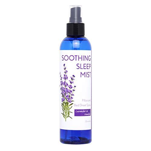 Lavender Pillow Spray for Sleep. Pillow Mist Lavender Spray for Sleep. Multiple Scent Options (Lavender & Vanilla Blend, 8 Ounce)