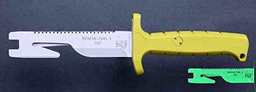 Solingen RT-II SGT Eickhorn Couteau de Sauvetage Lame 13,5 cm Revêtement spécial Couteau – Couteau – Solingen – Outil de Sauvetage – Coupe-Ceinture – Inoxydable