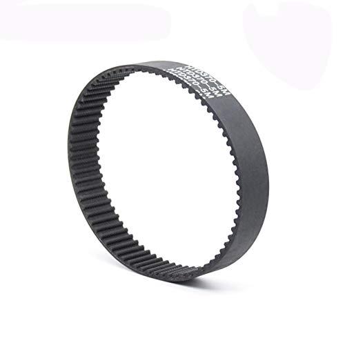 SHENYI Profesional Cinturón de cronometraje Cerrado de Goma Negra de 5M Cinturón de Tiempo de cinturón sincrónico 475 480 485 490 495 500mm EVEX 15 20 25 30mm Industria