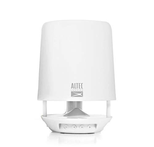 Altec Lansing AL-PT-11 Bookshelf Style Portable Stationary Keeping Bluetooth Speaker with LED Light & USB Player Function