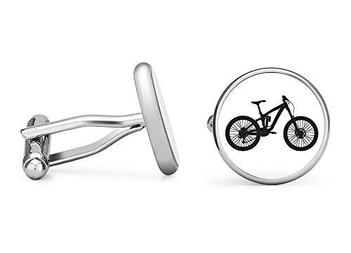 Oakmont Cufflinks Mountain Bike Cufflinks Mountain Biking Cuff Links (Contoured Edition)