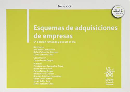 Tomo XXX Esquemas De Adquisiciones De Empresas 5ª Edición 2020