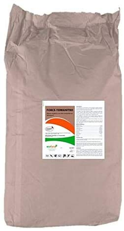 CULTIVERS Harina de sangre de 25 Kg. Abono Ecológico con alto contenido en Nitrógeno, Hierro Hémico y Materia Orgánica. Fertilizante Natural Activador de Crecimiento para Cultivos.