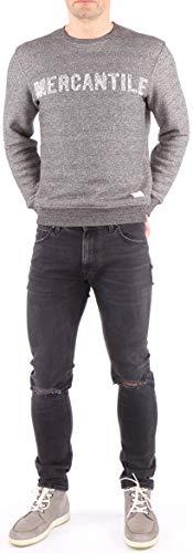 Lee Luke heren jeans broek wortelen snit grijs vintage
