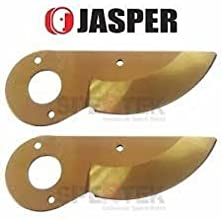 Jasper 2 x Titanium Coat Blade for Felco 2 4 11 Pruner Replace Felco 2/3