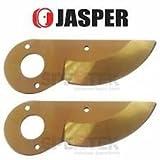 Jasper 2 x Titanium Coat Blade for Felco 2 4 11 Pruner Replace Felco 2/3