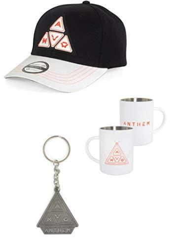 Anthem: Steel Mug, Snapback & Keychain Bundle