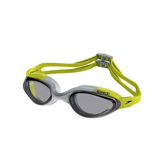 Speedo Hydrovision Máscara de Natação, Unissex, Amarelo (Citronela Fume), Único