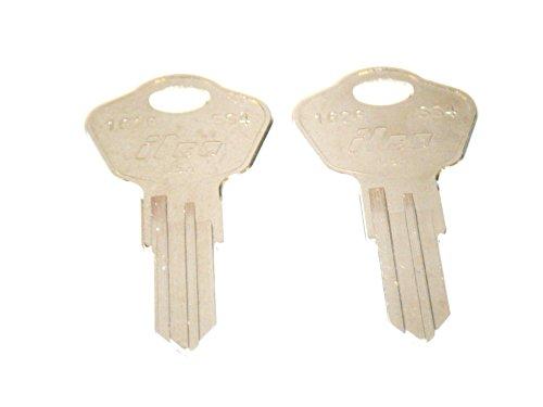 Sentry Safe Keys CUT To Codes 3A2 3B2 3C2 3D2 3E2 3F2 3G2 3H2 3J2 3K2 MAKE SURE YOU CHOOSE YOU NUMBER BEFORE ORDERING 2 Two Working Keys Sentry Safe Chest & File Keys Model 1100 & Many Models (3C2)