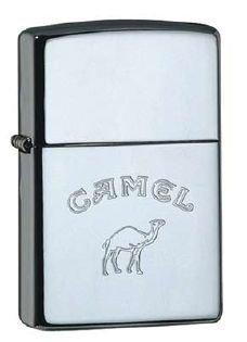 Zippo Feuerzeug Camel with Camel Chrom poliert