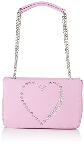 Love Moschino Bolso de hombro para mujer, colección otoño-invierno 2021, rosa, U