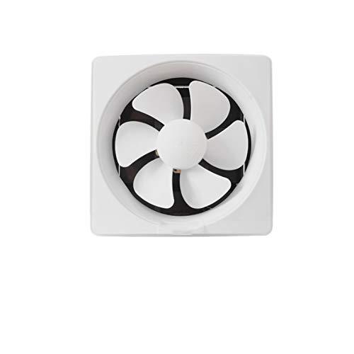 JEONSWOD Ventilador de ventilación de Humos de Cocina con Rejillas Baño Fácil de Instalar Extractor de ventilación Potente Ventilador de Escape silencioso de Alta Potencia montado en la Pared