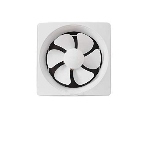 STRAW Ventilador de ventilación de Humos de Cocina con Rejillas Baño Fácil de Instalar Extractor de ventilación Potente Ventilador de Escape silencioso de Alta Potencia montado en la Pared