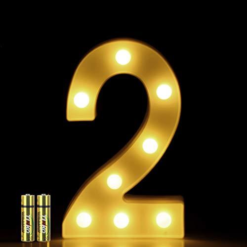 Honphier® letters lichten alfabet lamp LED brief verlichting letter licht verlichte letters nachtlampjes decoratie voor verjaardag party bruiloft kinderkamer
