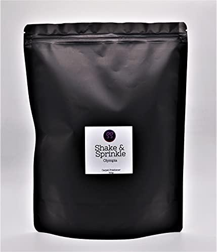 Olympia Aroma Shake & Sprinkle. Ambientador fuerte para alfombra, 500 g a base de perfume para mujer