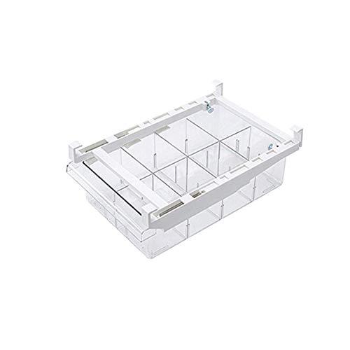 Dljyy Kühlschrank Organisatoren Haushalts Schublade Kühlschrank Aufbewahrungsbox Küche Ei Lagerung mit Fach Lagerung von Obst und Gemüse frisch zu halten Box for Kühlschrank Küche Sortierung