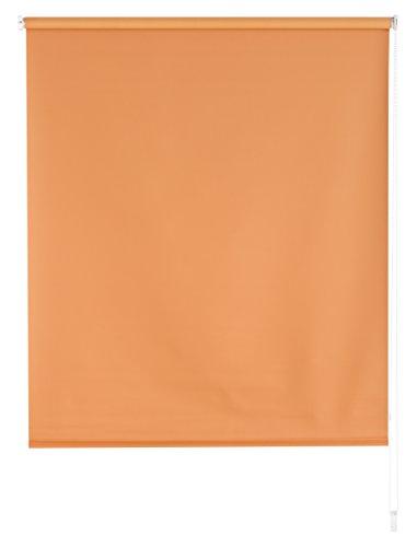 Blindecor Draco Estor Enrollable Opaco Liso, Tela, Naranja, 120 x 175 cm