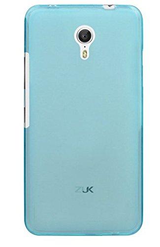 caseroxx TPU-Hülle für ZUK Z1, Handy Hülle Tasche (TPU-Hülle in hellblau)