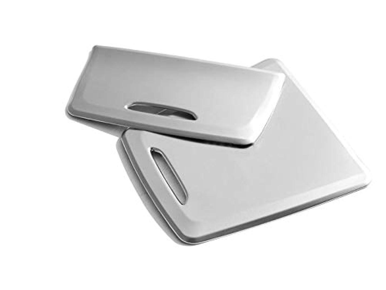 二次専門カンガルーJicorzo - 2pcs Car Middle Storage Box & Ashtray Outer Frame For Benz GLA CLA-Class X156 C117 2013-2017 Car Interior Accessories Styling