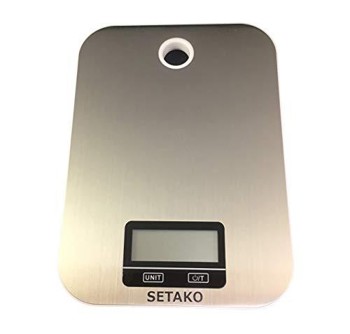 SETAKO 勢田工業 1g単位で最大5kg計量 壁掛け デジタルスケール キッチンスケール 精密はかり 電子秤 簡易日本語説明書付