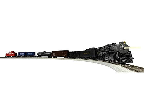 Lionel Nickel Plate Fast Freight Electric HO Gauge Model Train Set w/Remote and Bluetooth Capability