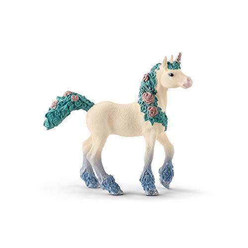 Schleich 70591 bayala Spielfigur - Blüteneinhorn Fohlen, Spielzeug ab 5 Jahren