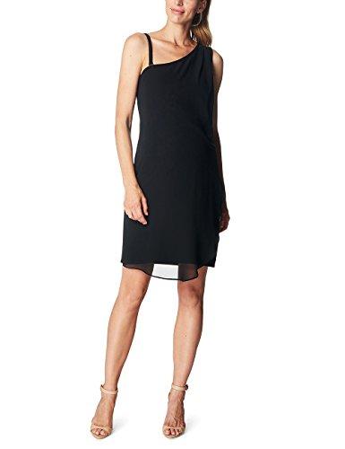 ESPRIT Maternity Damen R84289 Umstandskleid, Schwarz (Black 001), 34 (Herstellergröße:XS)